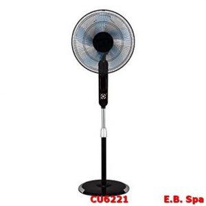 Ventilatore a piantana nero - ZEPHIR CU6221