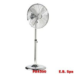 Ventilatore a piantana cromato - ZEPHIR PA4500