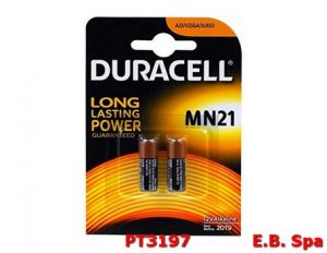 MN21 DU25 BATT.ALK 12V BL.2PZ XTELECOMANDO - DURACELL PT3197