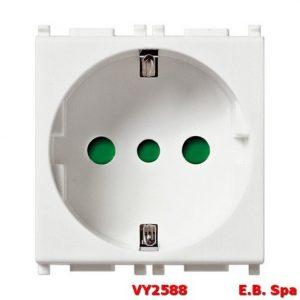 Presa 2P+T 16A P30 bianco - VIMAR SPA VY2588