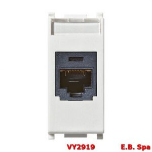 Presa RJ45 Panduit Cat5e UTP bianco - VIMAR SPA VY2919