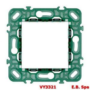 Supporto 2M senza viti int71 - VIMAR SPA VY3321