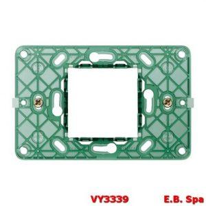 Supporto 2M centrali +viti - VIMAR SPA VY3339