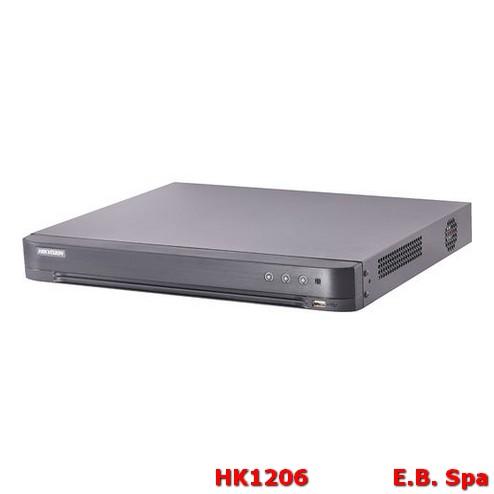 DVR 4 canali 5 MP 1U H.265 - HIKVISION ITALY SRL HK1206