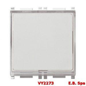 Pulsante targhetta 1P NO 10A 250V bianco - VIMAR SPA VY2273