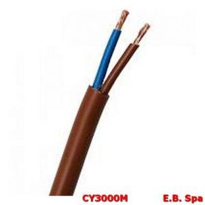 Cavo FS18OR marrone 2x0.50mmq (100 METRI) - CONDUTTORI ISOLATI PVC CY3000M