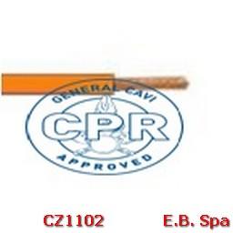 FS17 Cavo antifiamma 1,5mmq Arancione (100 METRI) - CONDUTTORI ISOLATI PVC CZ1102