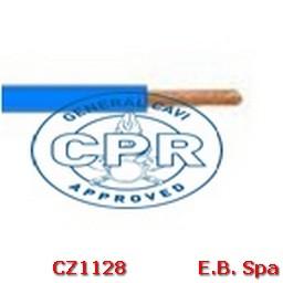 FS17 Cavo antifiamma 1,5mmq Blu (100 METRI) - CONDUTTORI ISOLATI PVC CZ1128M