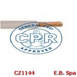 FS17 Cavo antifiamma 1,5mmq Grigio (100 METRI) - CONDUTTORI ISOLATI PVC CZ1144M