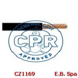 FS17 Cavo antifiamma 1,5mmq Nero (100 METRI) - CONDUTTORI ISOLATI PVC CZ1169M
