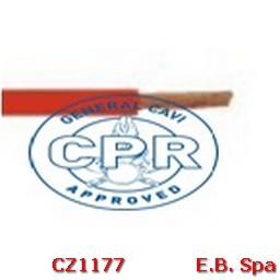 FS17 Cavo antifiamma 1,5mmq Rosso (100 METRI) - CONDUTTORI ISOLATI PVC CZ1177