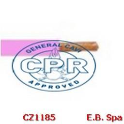 FS17 Cavo antifiamma 1,5mmq Rosa (100 METRI) - CONDUTTORI ISOLATI PVC CZ1185