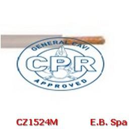 FS17 Cavo antifiamma 10mmq Grigio (100 METRI) - CONDUTTORI ISOLATI PVC CZ1524M