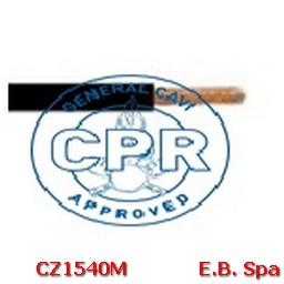 FS17 Cavo antifiamma 10mmq Nero (100 METRI) - CONDUTTORI ISOLATI PVC CZ1540M