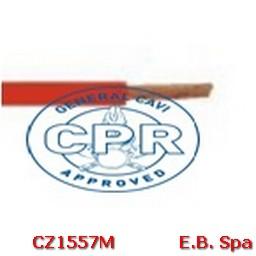 FS17 Cavo antifiamma 10mmq Rosso (100 METRI) - CONDUTTORI ISOLATI PVC CZ1557M