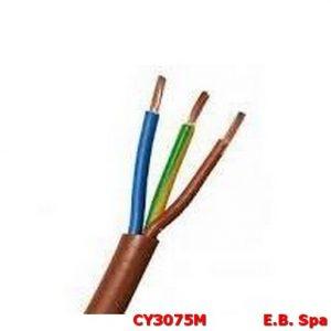 Cavo FS18OR marrone 3G1,00mmq (100 METRI) - CONDUTTORI ISOLATI PVC CY3075M
