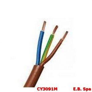 Cavo FS18OR marrone 3G2,50mmq (100 METRI) - CONDUTTORI ISOLATI PVC CY3091M