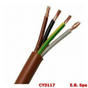 Cavo FS18OR marrone 4G0.,75mmq - CONDUTTORI ISOLATI PVC CY3117