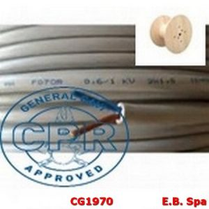 FG16OR16-06/1KV 3X35MMQ GRIGIO - CONDUTTORI ISOLATI GOMMA CG1970