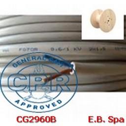 FG16OR16-06/1KV 2X1.5MMQ GRIGIO - CONDUTTORI ISOLATI GOMMA CG2960B