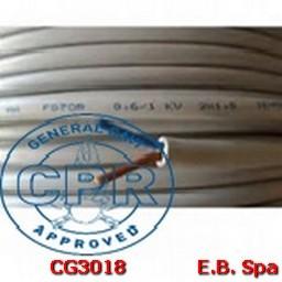 FG16OR16-0,6/1KV FLEX 2X16 GR - CONDUTTORI ISOLATI GOMMA CG3018