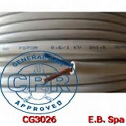 FG16OR16-0,6/1KV FLEX 2X25 GR - CONDUTTORI ISOLATI GOMMA CG3026