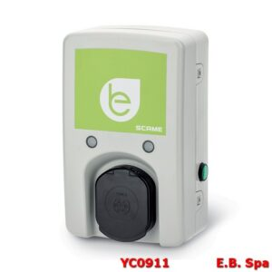 204WB13D-T2A PRESATIPO2 22KW E3X32TN CON CARTA RFID WALLBOX1 PER VEICOLI ELETTRCI - SCAME PARRE SPA YC0911