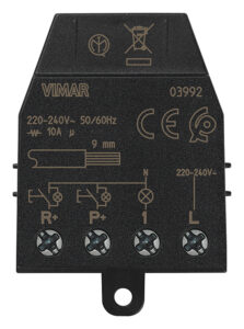 Modulo rel ? ad imp. con reset Quid 10A - VIMAR SPA VX0013