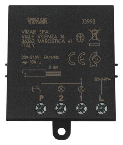 Modulo relé ad imp. 4 sequenze Quid 10A - VIMAR SPA VX0039