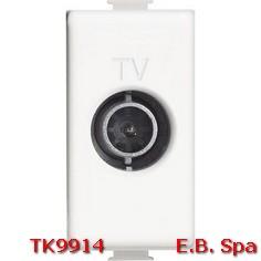 Matix - Presa TV passante 14dB 1M bianco - BTICINO S.P.A TK9914