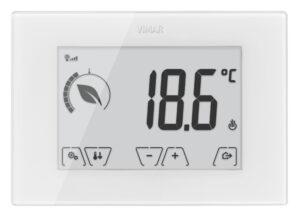 Termostato touch GSM parete 230V bianco - VIMAR SPA VU1071