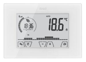 Termostato touch WiFi parete bianco - VIMAR SPA VU4919