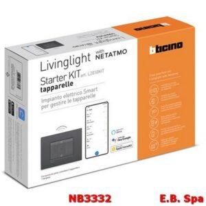 L2010KIT STARTER KIT TAPPARELLE LIVING - BTICINO S.P.A NB3332