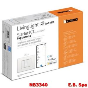 N2010KIT STARTER KIT TAPPARELLE LIVING LIGHT - BTICINO S.P.A NB3340
