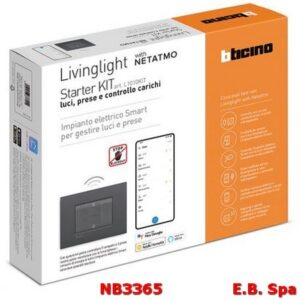 L1010KIT STARTER KIT ENERGIAANTRACITE - BTICINO S.P.A NB3365