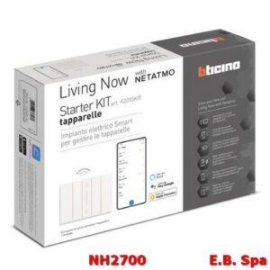 K2010KIT STARTER KIT TAPPAREL.LE LIVINGH NOW - BTICINO S.P.A NH2700