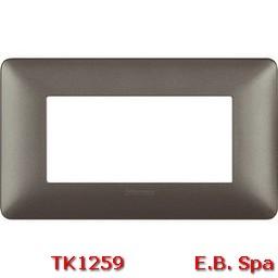 matix - placca 4p iron - BTICINO S.P.A TK1259