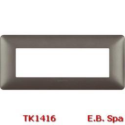 matix - placca 6p iron - BTICINO S.P.A TK1416