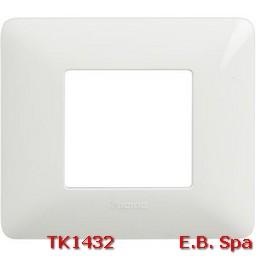 matix - placca 2p bianco - BTICINO S.P.A TK1432