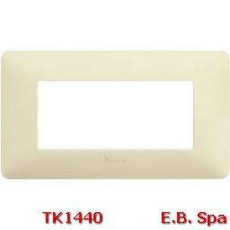 matix - placca 4p avorio - BTICINO S.P.A TK1440