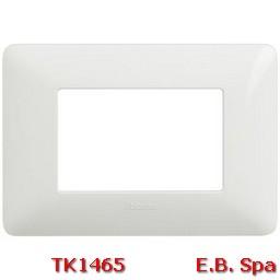 matix - placca 3p bianco - BTICINO S.P.A TK1465