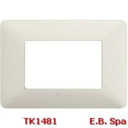 matix - placca 3p cenere - BTICINO S.P.A TK1481