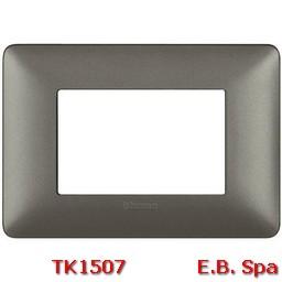 matix - placca 3p iron - BTICINO S.P.A TK1507