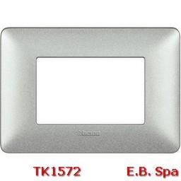 matix - placca 3p bianco calce - BTICINO S.P.A TK1572