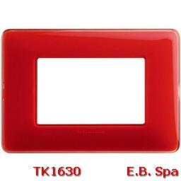 matix - placca 3p colors corallo - BTICINO S.P.A TK1630
