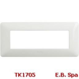 matix - placca 6p bianco - BTICINO S.P.A TK1705