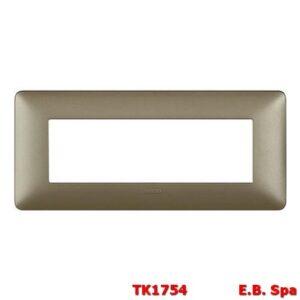 matix - placca 6p titanium - BTICINO S.P.A TK1754