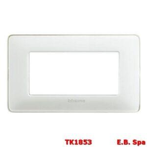 matix - placca 4p colors ghiaccio - BTICINO S.P.A TK1853