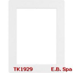 matix - placca 6+6+6p bianco - BTICINO S.P.A TK1929