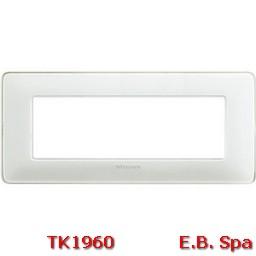matix - placca 6p colors ghiaccio - BTICINO S.P.A TK1960